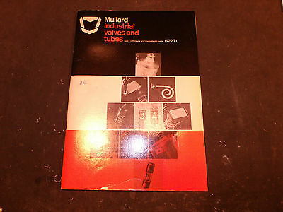 Mullard Industrial Valves and Tubes Quick Reference and Equivalents Guide 1970/1