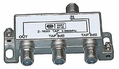 3 WAY F-SPLITTER 2-WAY TAP 8dB 5-1000MHz KONIG