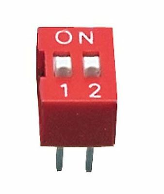 DIP Switch  4 pins, ON-OFF  0.05A/12VDC, THT