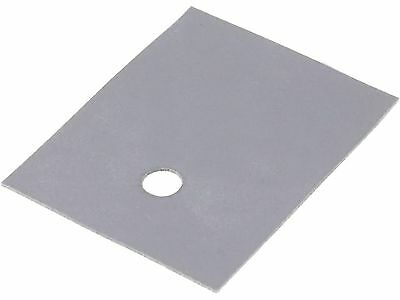 Thermally conductive pad, silicone, SOT93, TOP3, 0.4K/W, 20x24mm