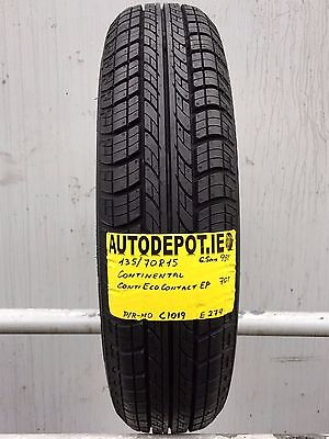 135/70R15 CONTINENTAL CONTI ECO CONTACT EP 70T Part worn tyre (C1019)