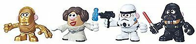 Playskool Friends Toy - Mr Potato Head -Disney Star Wars Multi-Pack - Vader Leia