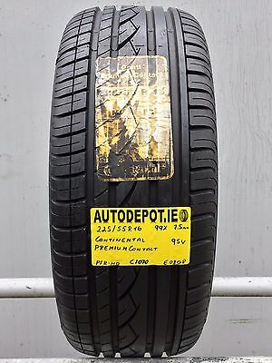 225/55R16 CONTINENTAL PREMIUM CONTACT 95V Part worn tyre (C1070)
