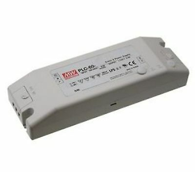 60W single output LED power supply 12V 5A with PFC