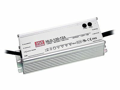 120W high efficiency LED power supply 12V 10A with PFC, with dimming function