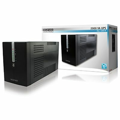Uninterruptible power supply (UPS) 2000VA 1200W