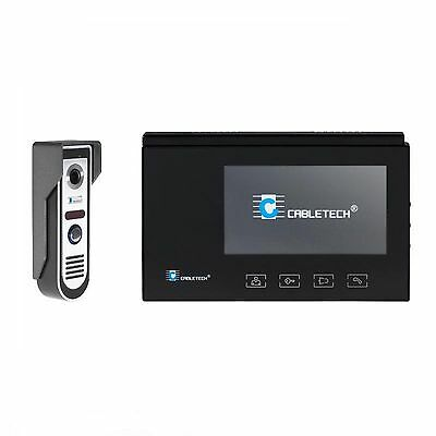 """Video intercom CABLETECH with touch screen (7"""", color)"""