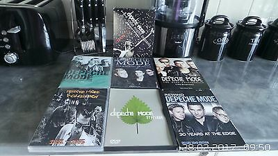 7 pcs Collection of Depeche Mode DVDs