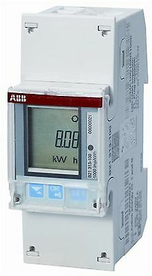 Single Phase Energy Meter, Direct Connection with RS485 / Pulse Output ABB