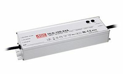 100W high efficiency LED power supply 24V 4A with PFC