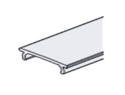 Cover frosted for aluminum profile 150-152 2m