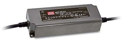90W single output LED power supply 12V 7.5A with PFC, with dimming function