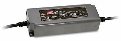 90W single output LED power supply 24V 3.75A with PFC, with dimming function