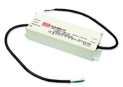 80W high efficiency LED power supply 24V 3.4A with PFC, with dimming function