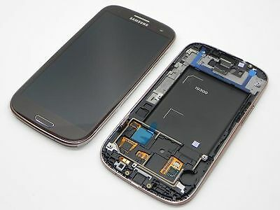 Samsung GT-I9300 Galaxy S3 LCD and touch panel, brown