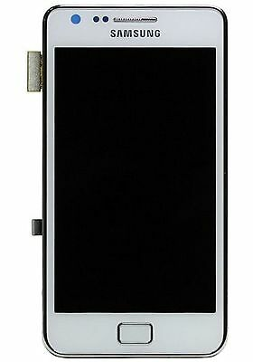 Samsung GT-I9105 Galaxy S2 Plus LCD Screen and Touch, white