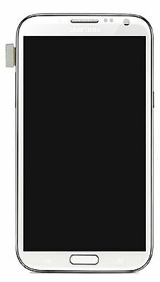 Samsung N7100 Galaxy Note 2 LCD Screen and Touch, white
