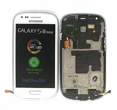 Samsung I8190 Galaxy S3 Mini LCD and touch panel, white