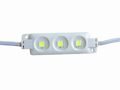 Injection 5050 SMD 3 LED Waterproof DC12V  neutral white