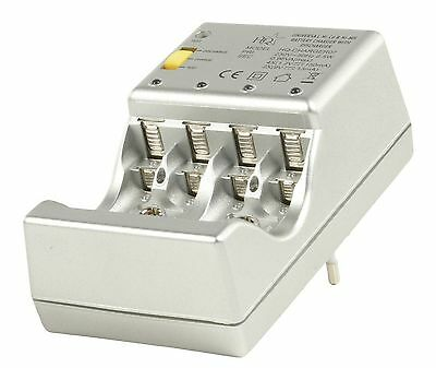 Charger 1-4 AAA,AA,1-2 9V NICD,NIMH with discharge, test