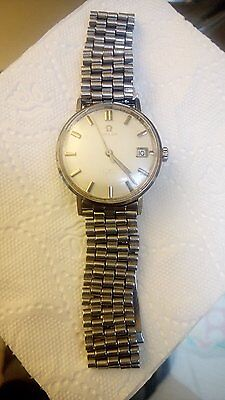 Omega Seamaster Watch 1960s Vintage, For Men, Working, With box