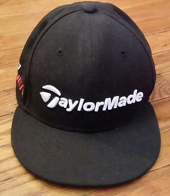 56553e57a7ced New Era golf TaylorMade R15 Aero Burner Snapback Hat Black cap GREAT  CONDITION