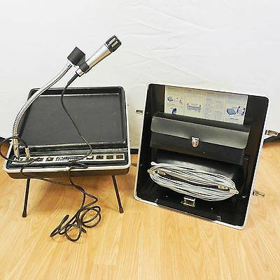 Amplivox Roving Rostrum Sound System Portable Tabletop Lectern S-122 Amplifier