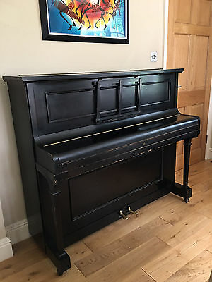 Darkwood Upright Piano in Reasonably Good Condition