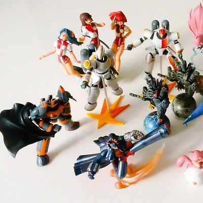 Special price Gunbuster Mini Figure set Super RARE statue doll Japan manga