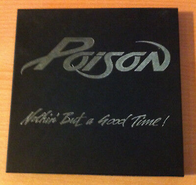 """POISON """"Nothin but a good time """"-Vinyl single 7"""" Limited Edition Boxed-Postcards"""
