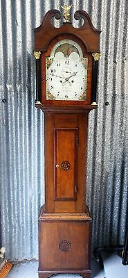 Antique Longcase Clock with Moon Phase - Free Delivery & Set Up (100 miles)