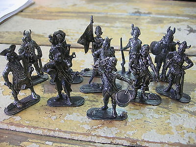 VNT Lot of 11 PEWTER FIGURES Historical Characters plus others