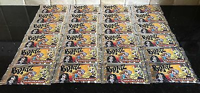 Job Lot 24 x Packets of Bratz Lamincards Trading Cards, 5 per Pack, Party Bags