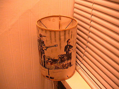 Beatles Vintage Home-Made Lamp-Shade, Circa 1964, Interesting Curiosity!