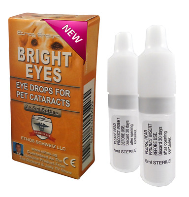 * Ethos NAC Cataract Eyes Drops for Pets *. - 1 BOX 10ml - AUTHORIZED RESELLER