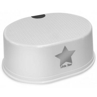 Strata Deluxe Toddler Toilet Training Step Stool Silver Lining Little Star