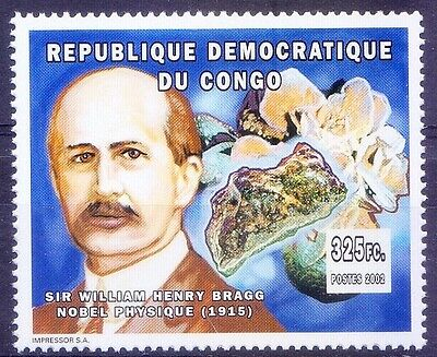 Sir William Henry Bragg,Crystal structure Analysis by X-rays,Nobel Physics,Congo