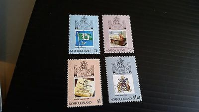 Norfolk Island 1989 Sg 465-468 10Th Anniv Of Self Government Used