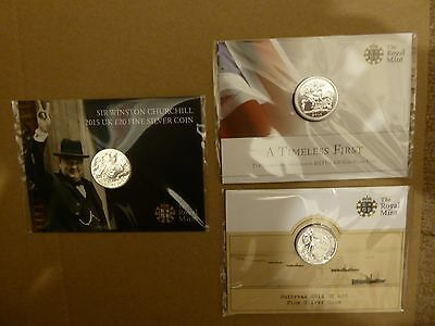 £20 silver coin set New & Sealed