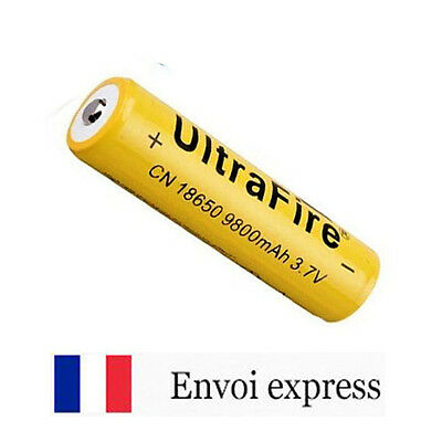 Pile rechargeable 18650 9800mAh 3,7V - Accumulateur LI-ION