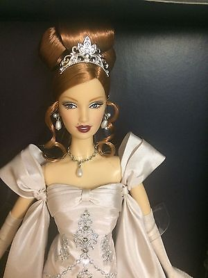 platinum label, Midnight celebration, barbie convention doll