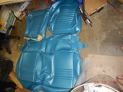 New Blem Tmi 1967 Chevelle/el Camino Sport Seat Front Bench Covers Seats 67