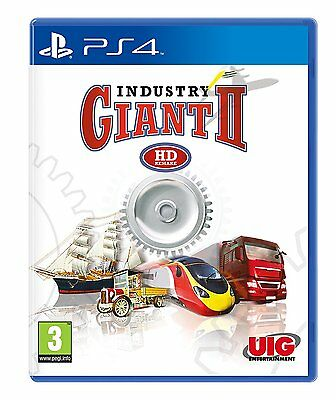 Industry Giant II ( 2 )  BRAND NEW PS4 Game