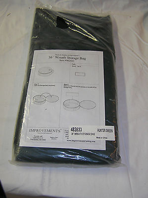 """36"""" Holiday Wreath Storage Bag by Improvements Collapsible Case"""