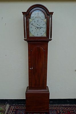 Late 18th c. Grandfather Longcase Clock FREE Delivery & Set Up (100 miles)