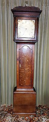 Late 18/19th c. Grandfather Longcase Clock - FREE Delivery & Set Up (100 miles)
