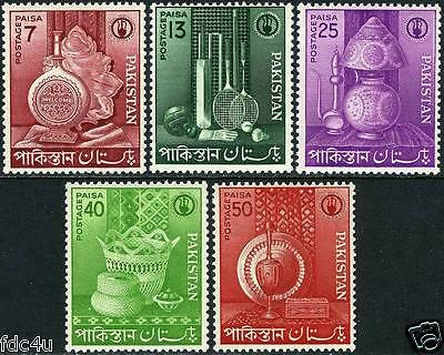 Pakistan Stamps 1962 Badminton Hockey Cricket Volleyball MNH
