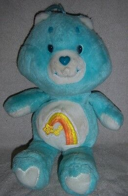 Care Bears Vintage 1983 Wish Bear - 13""