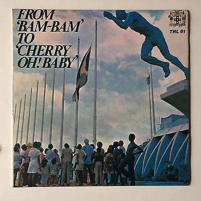 VARIOUS - From Bam Bam To Cherry Oh Baby - TROJAN '72 UK LP Original TRL 51