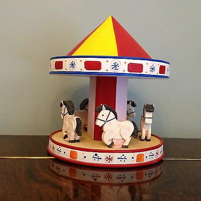 VHTF Collectors SUGARLUMP STUDIOS Magic Roundabout THE ROUNDABOUT CAROUSEL boxed